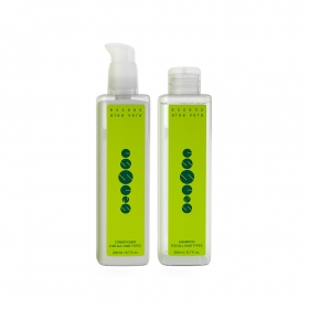 Подарочный набор Essens для всех типов волос Aloe Vera Hair Care